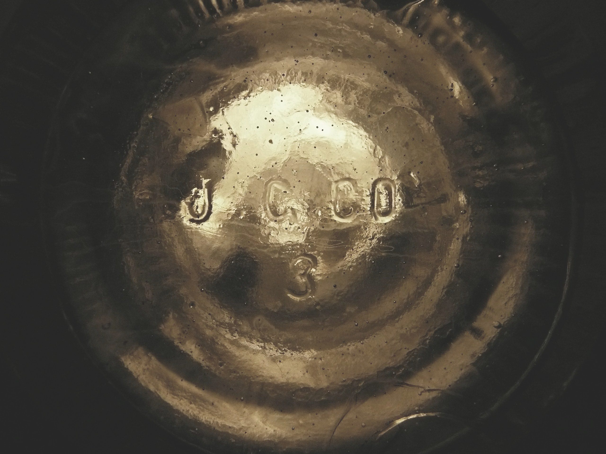 Glass manufacturers marks on bottles other glassware page three j g co mark photo courtesy of taylor mcburney biocorpaavc Gallery