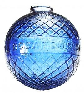 BOGARDUS target ball - cobalt blue