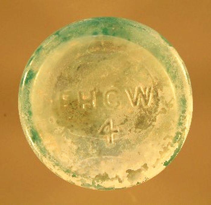 FHGW / 4 bottle base- San Elizario excavation - Bill Lockhart