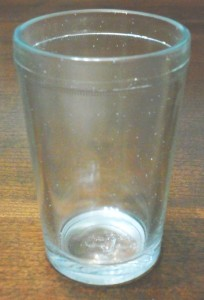 Capstan packer glass