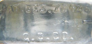 "Base of ""mystery bottle"". (Photo courtesy of Anthony Herren)"