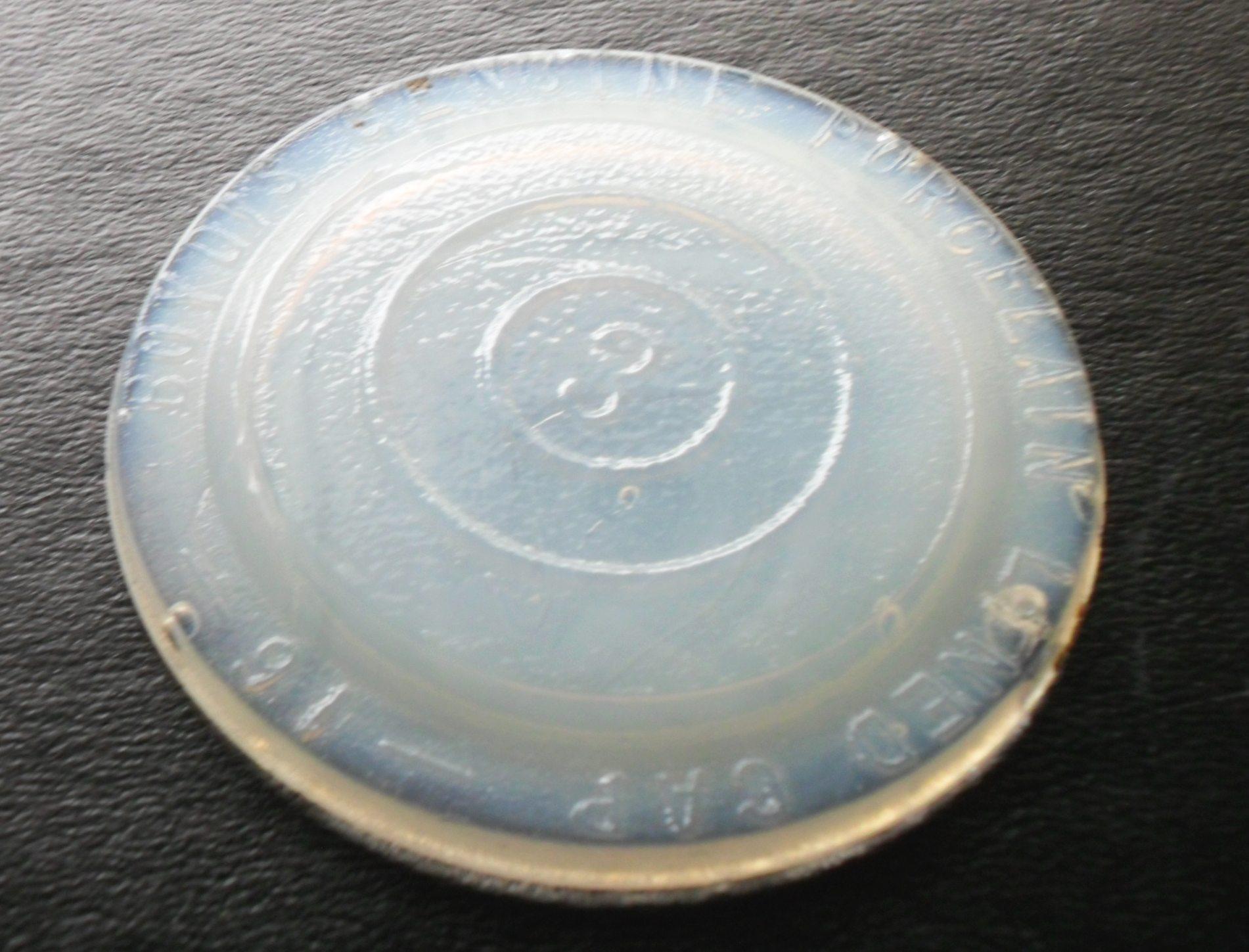 Boyd39;s Genuine PorcelainLined Cap  Milkglass Jar Liners