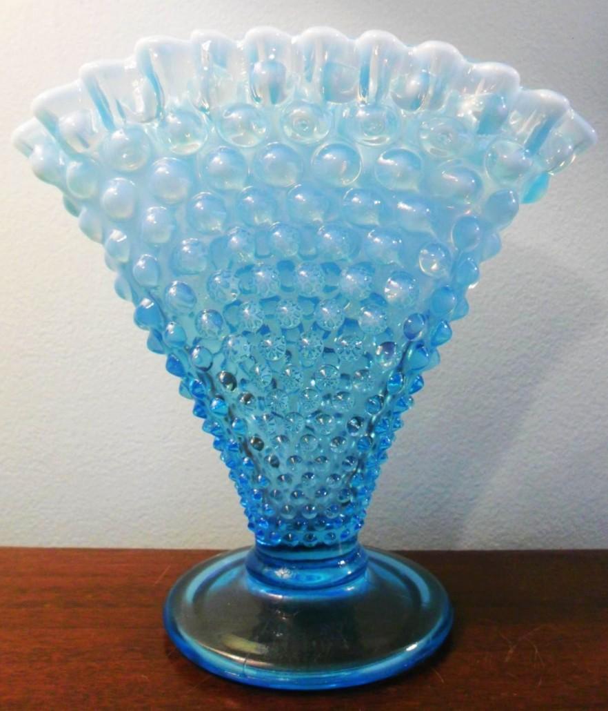 Fenton Art Glass Company Ruffled Glass Vase