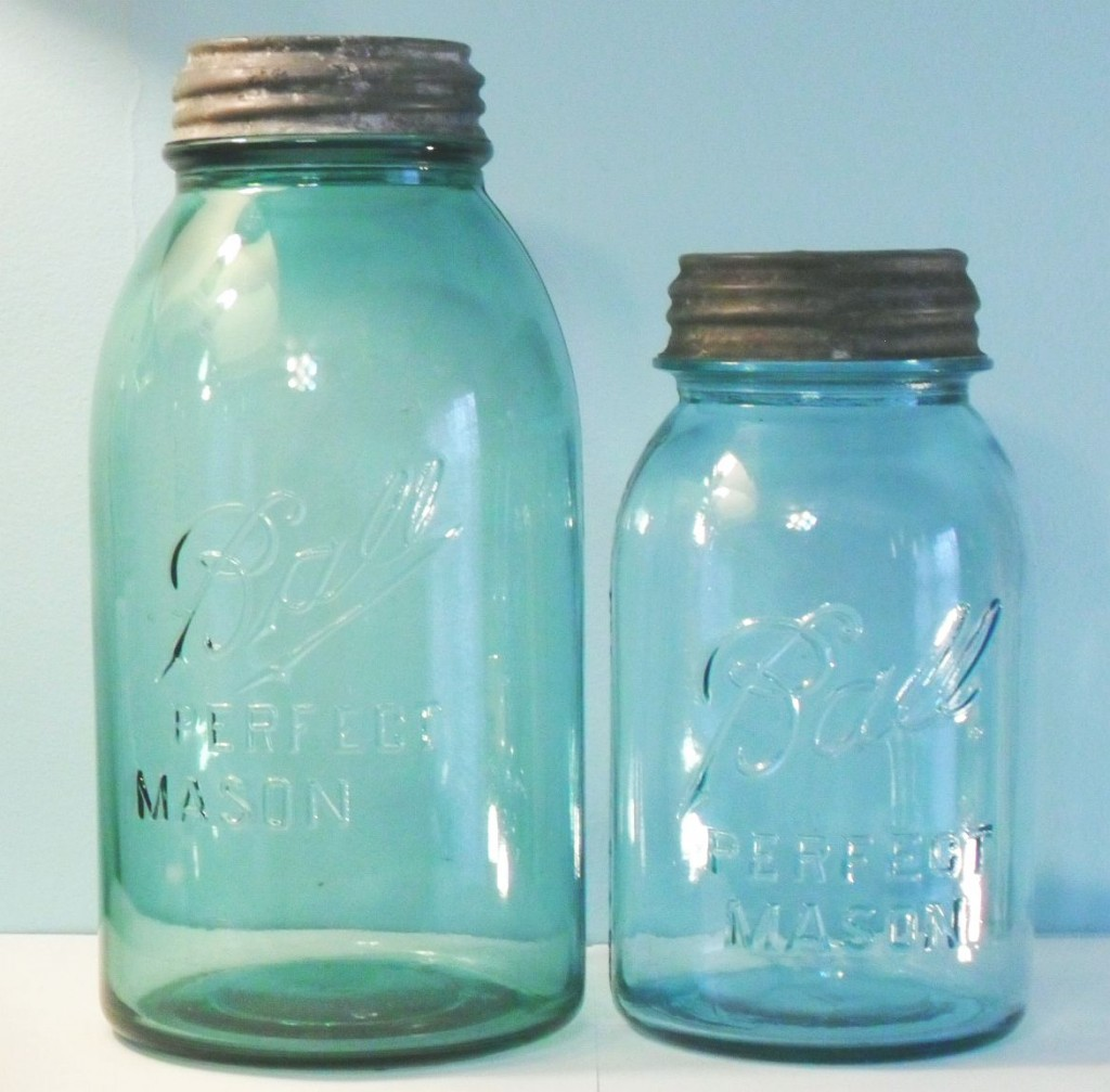 Ball Perfect Mason Jars- Half Gallon & Quart sizes