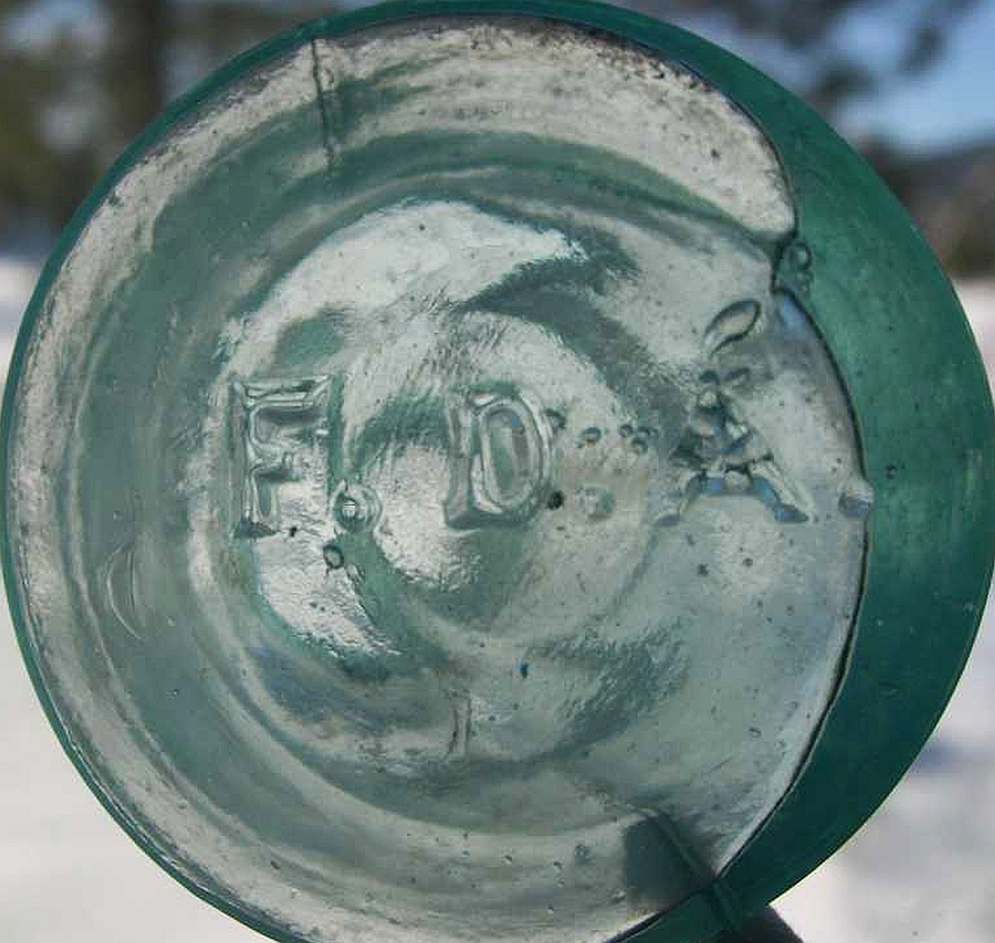GLASS MANUFACTURERS' MARKS ON BOTTLES & OTHER GLASSWARE